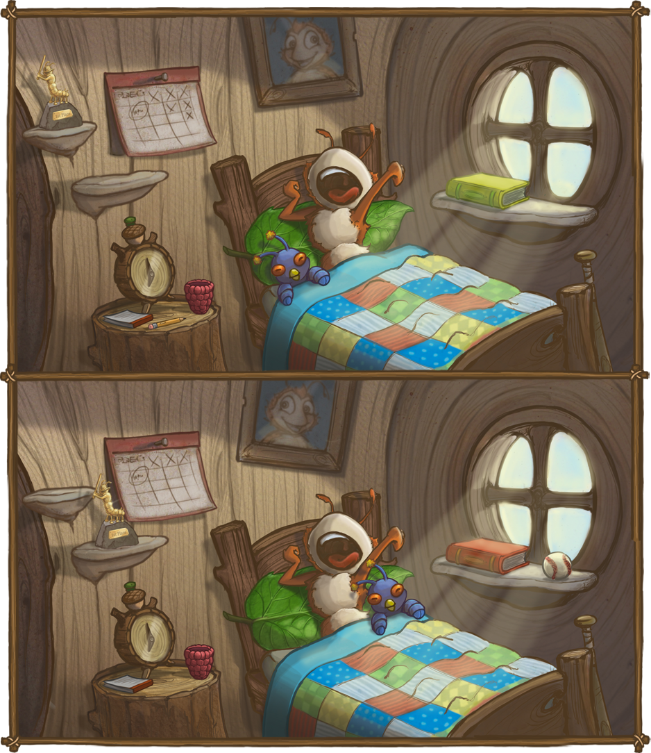 Amazing Bedroom Spot the Difference 938 x 1084 · 1887 kB · png